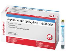 Septanest mit Epinephrin