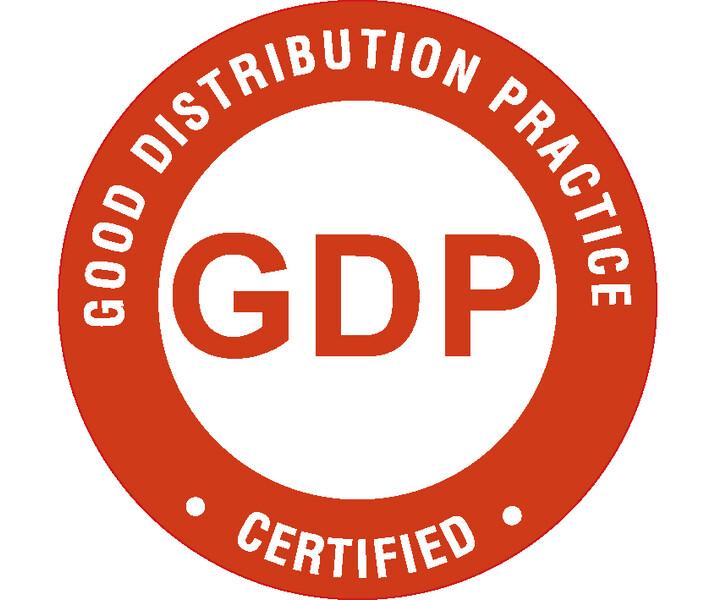 Zertifizierung gemäß GDP-Richtlinie