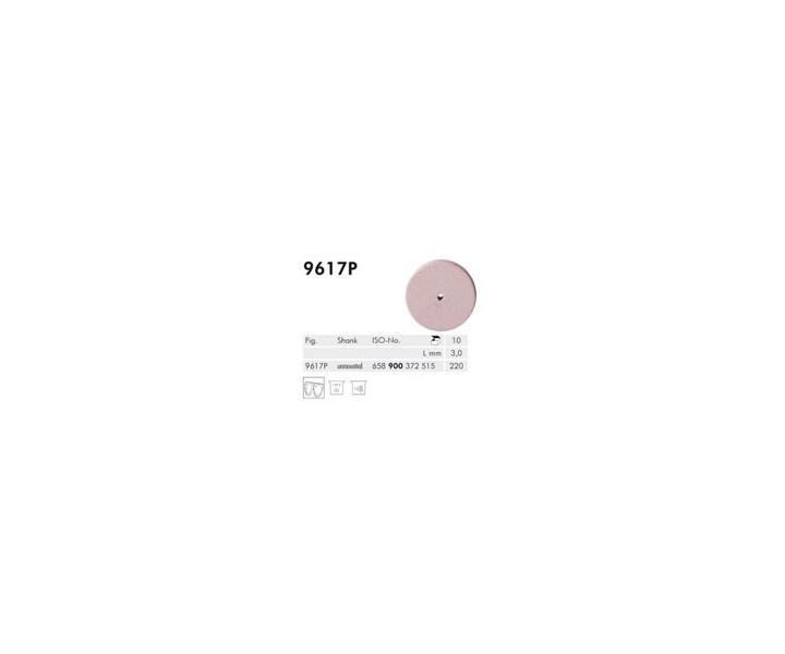 H+M Elastische Polierer Fig. 9617 P - 9619 P ,rosa