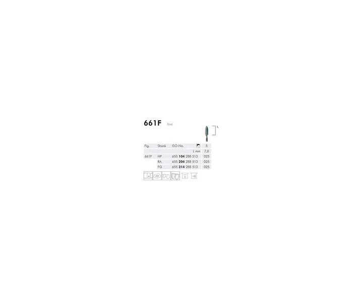 H+M Keramische Schleifer, grün, fein Fig. 601F-661F