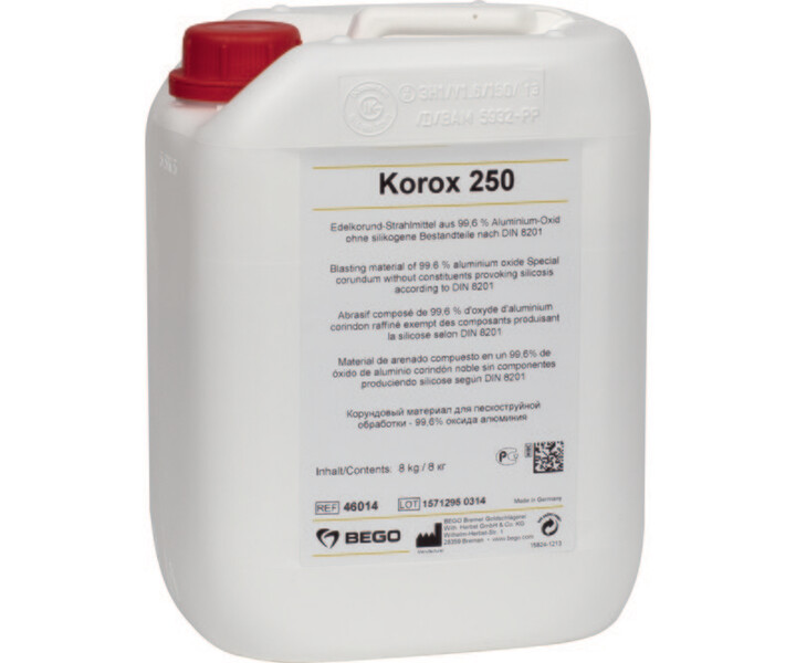 Korox Edelkorund-Abstrahlmittel