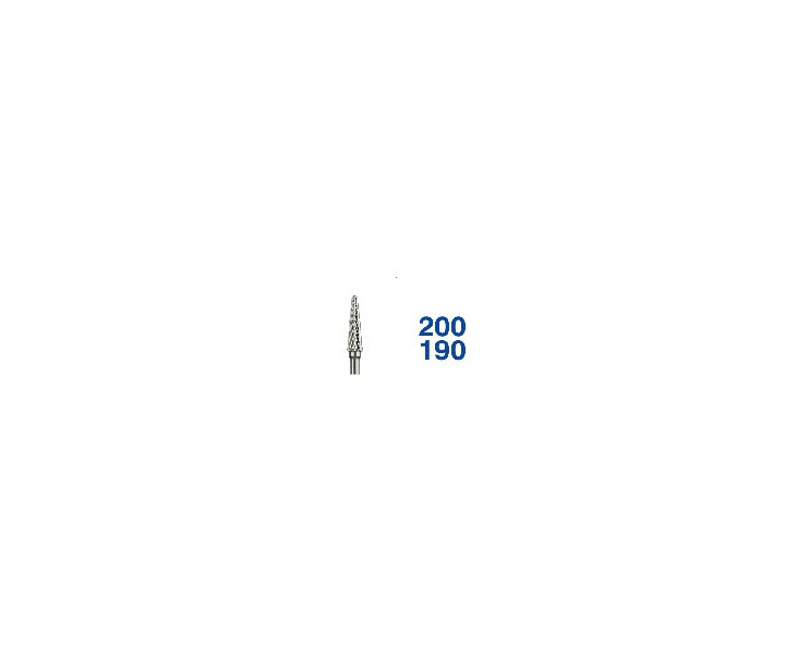 Horico Hartmetallfräsen Fig. S  200/190