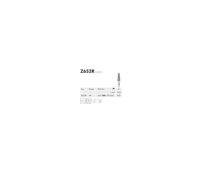 H+M Keramische Schleifer, Zirkonoxid, Fig. Z 602-736