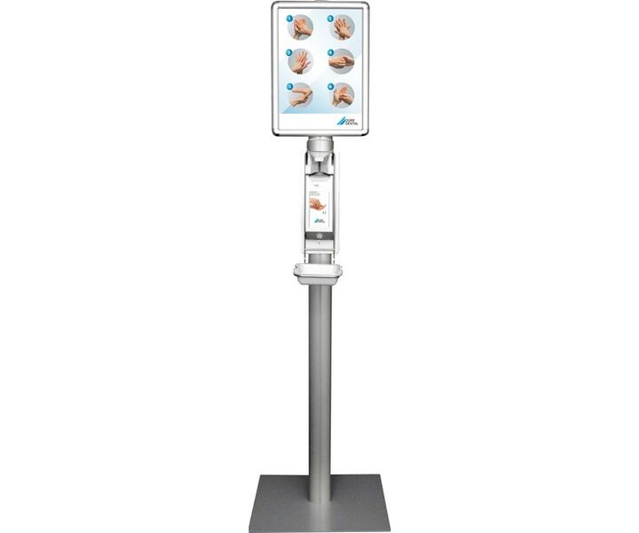 Spendersäule mit Universal-Präparatespender Touchless