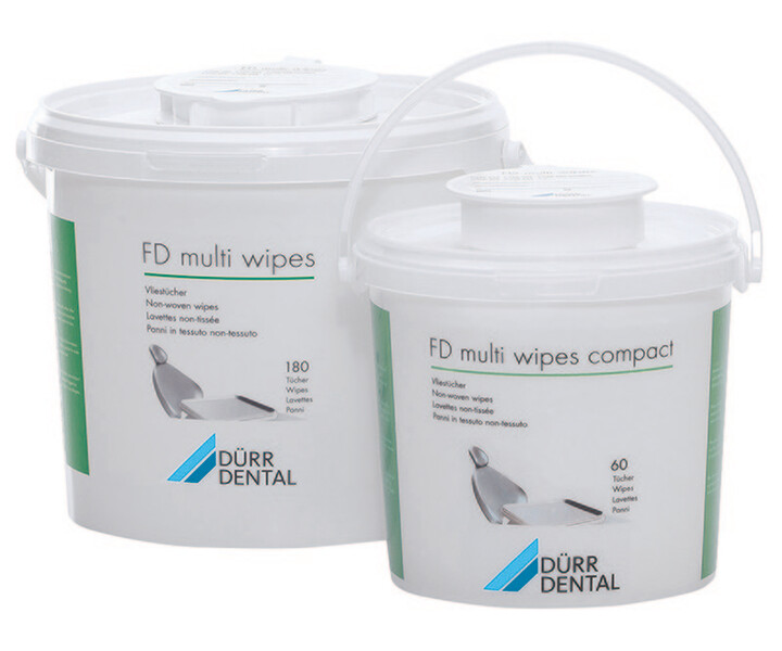 FD multi wipes compact / FD multi wipes, ungetränkt